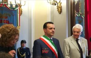 """Cerimonia d'insediamento del nuovo Sindaco di Messina: """"Benvenuto, Cateno De Luca"""""""