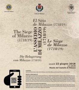 Milazzo (Me). Inaugurazione mostra Terzo Centenario Assedio spagnolo
