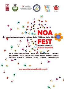 Al via a Novara di Sicilia (Pa) la 1a edizione di NoAFest, manifestazione per la Cultura della Terra e della Pace