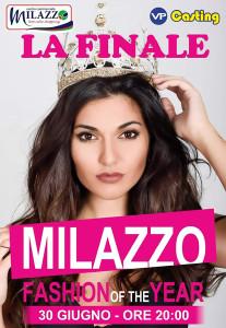 """""""Milazzo fashion of the year"""": la finalissima sabato 30 giugno alle ore 20.00 presso centro commerciale Milazzo ((Me)"""