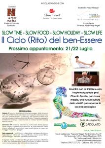 """Calabria. Continuano i Weekend de """"Il Ciclo (Rito) del Ben-Essere"""" a Badolato (Cz)."""