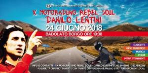 """Badolato (Cz). 10° Motoraduno """"Rebel Soul – Danilo Lentini"""", domenica 24 giugno."""