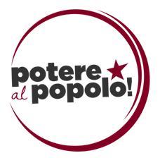"""Roccella Jonica (Rc). """"Potere al Popolo"""" sostiene la raccolta firme per la modifica degli art. 81 e 97 della Costituzione"""