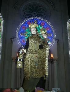 Santa Teresa di Riva (Me). Paese in festa per la Madonna del Carmelo.