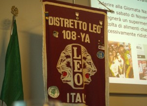 Napoli. Primo Gabinetto Distrettuale dell'anno sociale Leo 2018/2019.