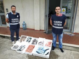 Guardia costiera di Soverato (Cz): attivita' ispettiva sulla filiera della pesca