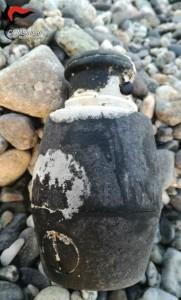 Monasterace (Rc). Rinvenuta in spiaggia granata risalente alla 2^ guerra mondiale