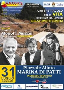 Marina di Patti (Me). Uno spettacolo per la vita – La sicurezza senza limiti e confini.