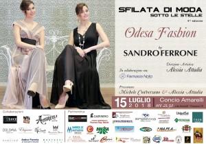 Rossano (Cs). Il 15 luglio al Concio Amarelli la IV Sfilata di moda Sandro Ferrone Sotto le stelle.