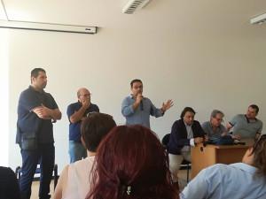 Messina. Assemblea di CGIL, CISL e UIL all'ATM.