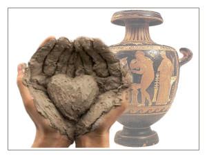 Marianopoli (Cl). Organizzato da BCsicilia laboratorio manipolativo dell'argilla per sperimentare le tecniche usate dall'uomo dalla preistoria fino all'età contemporanea