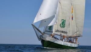 Goletta Verde dal 19 al 21 luglio a Roccella Jonica (Rc).