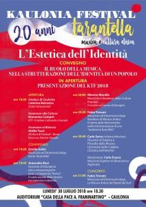 Caulonia (Rc). Kaulonia Tarantella Festival 2018, lunedì la presentazione ufficiale