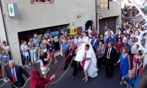 Savoca (Me). Il magnifico borgo ravvivato dalla tradizionale festa di Santa Lucia.