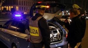 Catanzaro. Controlli straordinari della Polizia con alcol test e drug test: 4 i denunciati