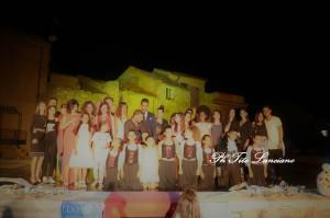 Badolato (Cz). Foto. Per una sera il Borgo sommerso da arte e spettacolo.