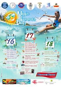 """Caulonia (Rc). Sport, musica e intrattenimento. Tutto pronto per i """"Magic Summer Days"""""""