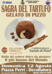 Calabria. La sagra del tartufo gelato di Pizzo (Vv) a Decollatura (Cz) il 12 agosto