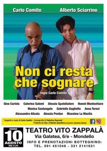 Mondello (Pa). Al Teatro Vito Zappalà Carlo Comito porta in scena i tanti personaggi della vita e della cultura palermitana.