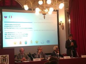 Messina rievoca il terremoto del 1908 e rinnova il dialogo culturale con la Russia.