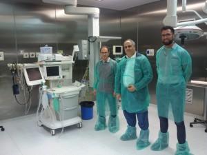 Il Sindaco D'Anna in visita all'ospedale di Giarre (Ct)