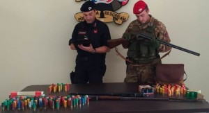 Taurianove (Rc). 63enne di Cittanova arrestato con l'accusa di detenzione illegale di armi clandestine.