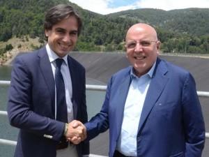Calabria Regione. Dal 28 ottobre arriverà l'acqua della diga del Menta a Reggio Calabria.