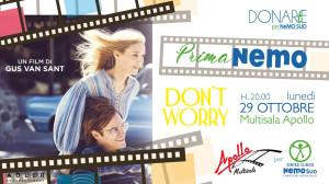 Messina. Prima NeMO. Il V appuntamento di DONARtE per NeMO SUD è al cinema.