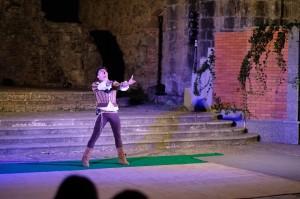 """Soriano Calabro (Vv). """"Giulietta e Romeo"""" di G.A.L.A. presso i ruderi dell'antico convento di San Domenico."""