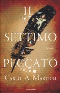 """Crotone. Presentazione del libro """"Il Settimo peccato"""" di Carlo A Martigli."""