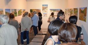 """Messina. Inaugurata alla Galleria d'Arte Moderna e Contemporanea """"Lucio Barbera"""" la mostra dedicata alle opere di Antonino Mancuso Fuoco."""