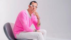 Palermo. Il designer internazionale Karim Rashid a piazza Castelnuovo con Philip Morris