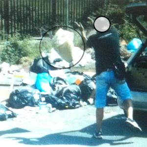 Giarre (Ct). Contrasto fenomeno abbandono dei rifiuti. Fotografati e multati diversi contravventori