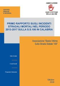 Calabria. S.S.106: per il 22 ottobre invitate tutte le istituzioni.