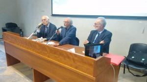 """Messina. Si è svolta al Palacultura la prima conferenza del ciclo """"Opere e figure del secondo novecento a Messina""""."""