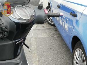 Messina. Minorenne arrestato dalla Polizia di Stato per furto di ciclomotore.