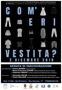 """Trebisacce (Cs), prima tappa nazionale della mostra """"Com'eri vestita?"""""""