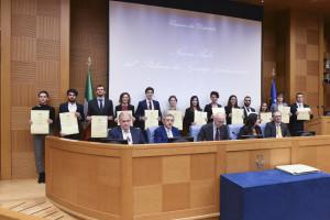 Premiazione dei neolaureati meritevoli alla Camera dei Deputati