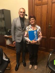 Reggio Calabria. Incontro istituzionale tra il Presidente provinciale Unicef e la Garante dell'Infanzia e dell'Adolescenza.