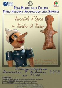 Cassano allo Ionio (Cs). Giocattoli d'epoca in mostra al Museo Nazionale Archeologico della Sibaritide.