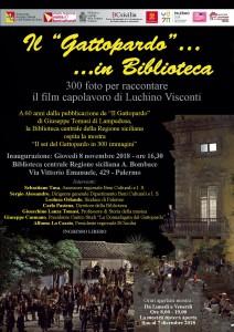 """Palermo. Alla Biblioteca centrale della Regione siciliana si inaugura la mostra """"Il set del Gattopardo in 300 immagini""""."""