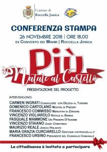 """Roccella Jonica (Rc) si prepara alla 2° edizione di """"Natale al Castello più""""."""