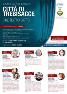 Trebisacce (CS). Presentata la nuova stagione teatrale.