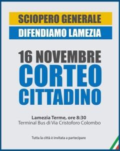 Lamezia Terme (Cz). Venerdi 16 sciopero generale per dire basta al degrado in cui versa la città