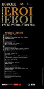 Messina. Dal 2 al 19 dicembre, un ciclo di appuntamenti di 100Sicilie.