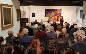 """Messina. Galleria d'Arte """"Lucio Barbera"""", inaugurata la mostra """"Omaggio a Giulio D'Anna""""."""