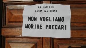 """Serra S. Bruno (Vv). Ex Lsu/Lpu in stato d'agitazione, Tassone: """"Con loro fino in fondo, indietro non si torna"""""""