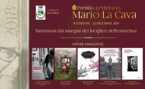 Bovalino (RC). Premio Letterario La Cava 2018: le cinque opere finaliste.