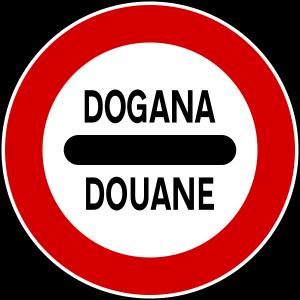 dogana-segnale-stradale