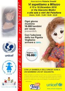 Milazzo (Me). Associazione Roberta Smedili e UNICEF in piazza: obiettivo mortalità zero.
